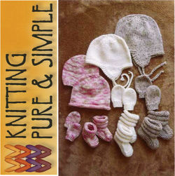 Baby Hats Mitts and Booties by Knitting Pure amp Simple