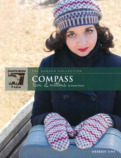 Herriot Fine Compass Tam and Mittens