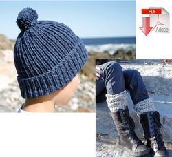 Candide Ragg Socks & Cap #38 - Pattern download