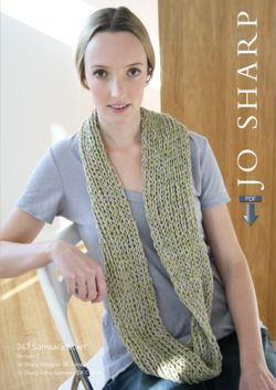 Jo Sharp Samsara Scarf Pattern - Pattern Download