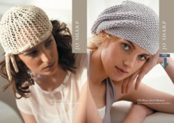 Jo Sharp Moss Stitch Beanie Pattern  Pattern Download