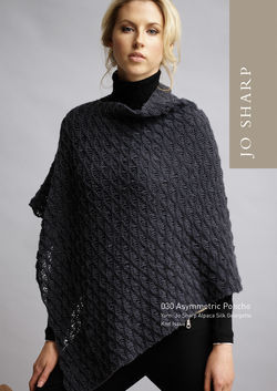 Jo Sharp Asymmetric Poncho Pattern