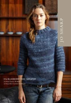 Jo Sharp Blueberry Yoke Sweater Pattern