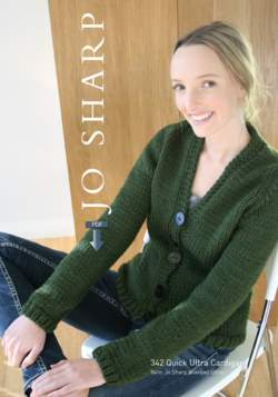 Jo Sharp Quick Ultra Cardigan Pattern  Pattern Download