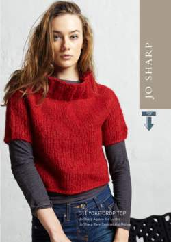 Jo Sharp Yoke Crop Top Pattern - Pattern Download