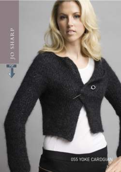 Jo Sharp Yoke Cardigan Pattern - Pattern Download