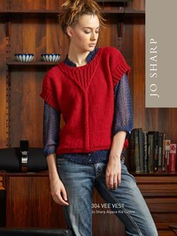 Jo Sharp Vee Vest Pattern
