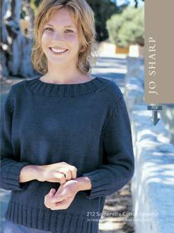 Jo Sharp Somerville Cotton Sweater Pattern - Pattern Download