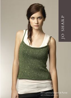 Jo Sharp Lumina Singlet & Purse Pattern