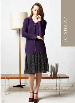 Jo Sharp Shaped Garter Jacket Pattern
