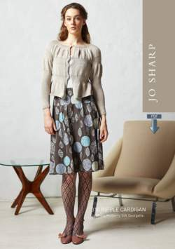 Jo Sharp Ripple Cardigan Pattern - Pattern Download