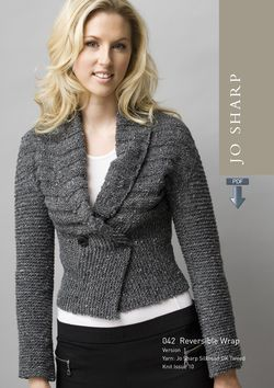 Jo Sharp Reversible Wrap Pattern - Pattern Download