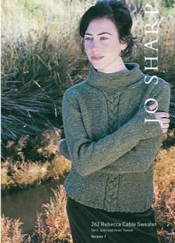 Jo Sharp Rebecca Cable Sweater Pattern