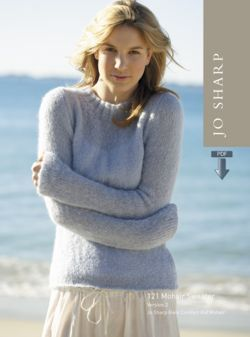 Jo Sharp Mohair Sweater  Pattern Download