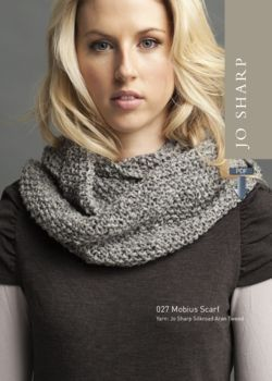 Jo Sharp Mobius Scarf  Pattern Download