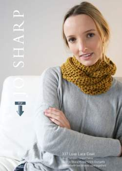 Jo Sharp Luxe Lace Cowl  Pattern Download