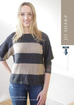 Jo Sharp Lola Stripe Tunic Sweater Pattern Download