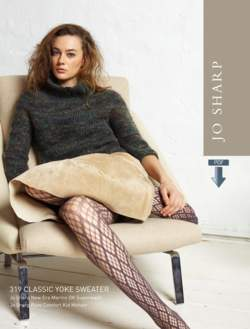 Jo Sharp Classic Yoke Sweater  Pattern Download