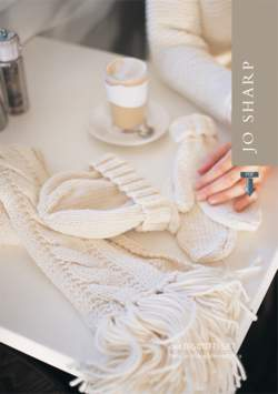 Jo Sharp Biscotti Set: Scarves, Hat, and Mittens - Pattern Download