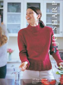 Jo Sharp Anya  Sweater  Pattern download