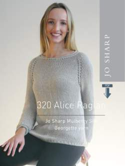 Jo Sharp Alice Raglan Sweater  Pattern download