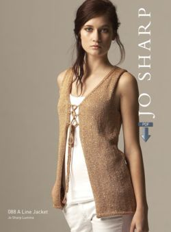 Jo Sharp A-line Jacket & Vest - Pattern Download