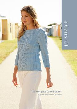 Jo Sharp Hourglass Cable Sweater - Pattern