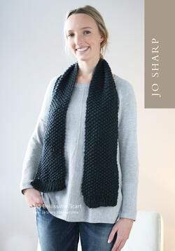 Jo Sharp Bellissimo Cowl and Scarf  Pattern Download