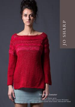 Jo Sharp Maya Sweater  Pattern