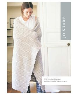 Jo Sharp Sunday Blanket - Pattern