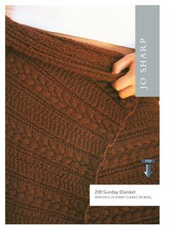Jo Sharp Sunday Blanket - Pattern Download