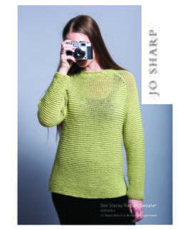 Jo Sharp Stacey Raglan Sweater  Pattern