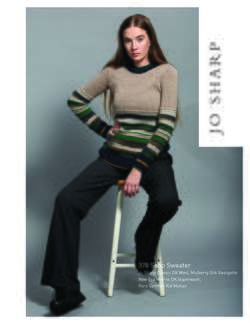 Jo Sharp Soho Sweater - Pattern