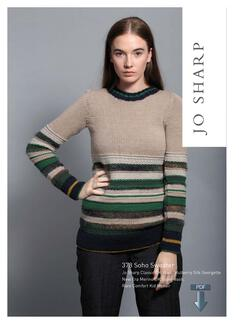 Jo Sharp Soho Sweater  Pattern Download
