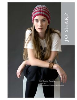 Jo Sharp Poet's Beanie - Pattern