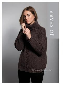 Jo Sharp Ursula Cable Sweater  Pattern