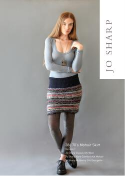 Jo Sharp 70's Mohair Skirt - Pattern