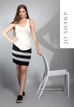 Jo Sharp Salt & Pepper Skirt - Pattern