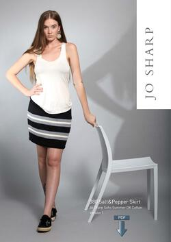 Jo Sharp Salt & Pepper Skirt - Pattern Download