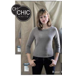 Chic Knits Basic Chic Pulli
