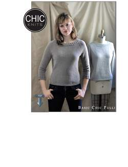 Chic Knits Basic Chic Pulli  Pattern download