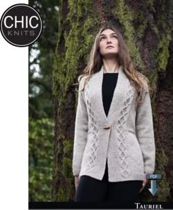 Chic Knits Tauriel Cardigan - Pattern download