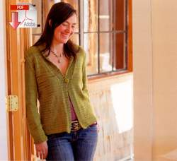 Swans Island Natalie Cardigan  Pattern Download