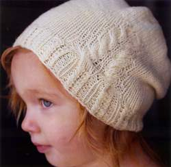 Swans Island White Pines Hat - pdf pattern download