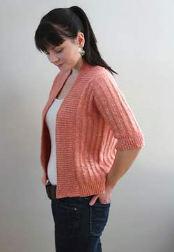 Knitbot Spring Ribbed Cardigan