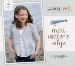 Coastal Kids Mini Wateraposs Edge Cardigan