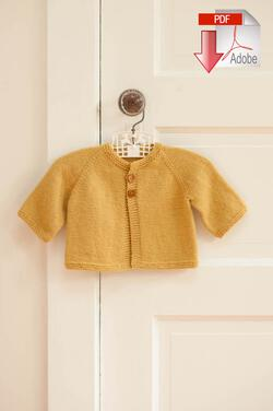 Mabel's Closet Cradle Cardigan - Pattern download