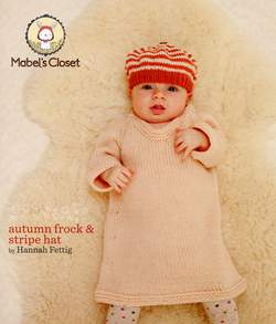 Mabel's Closet Autumn Frock & Stripe Hat