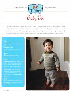 new book or magazine: Tot Toppers Baby Tee