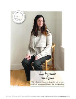 new book or magazine: Knitbot Harborside Cardigan